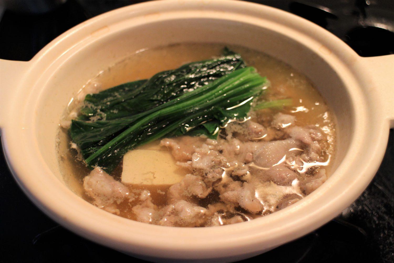 常夜鍋の大葉レシピ